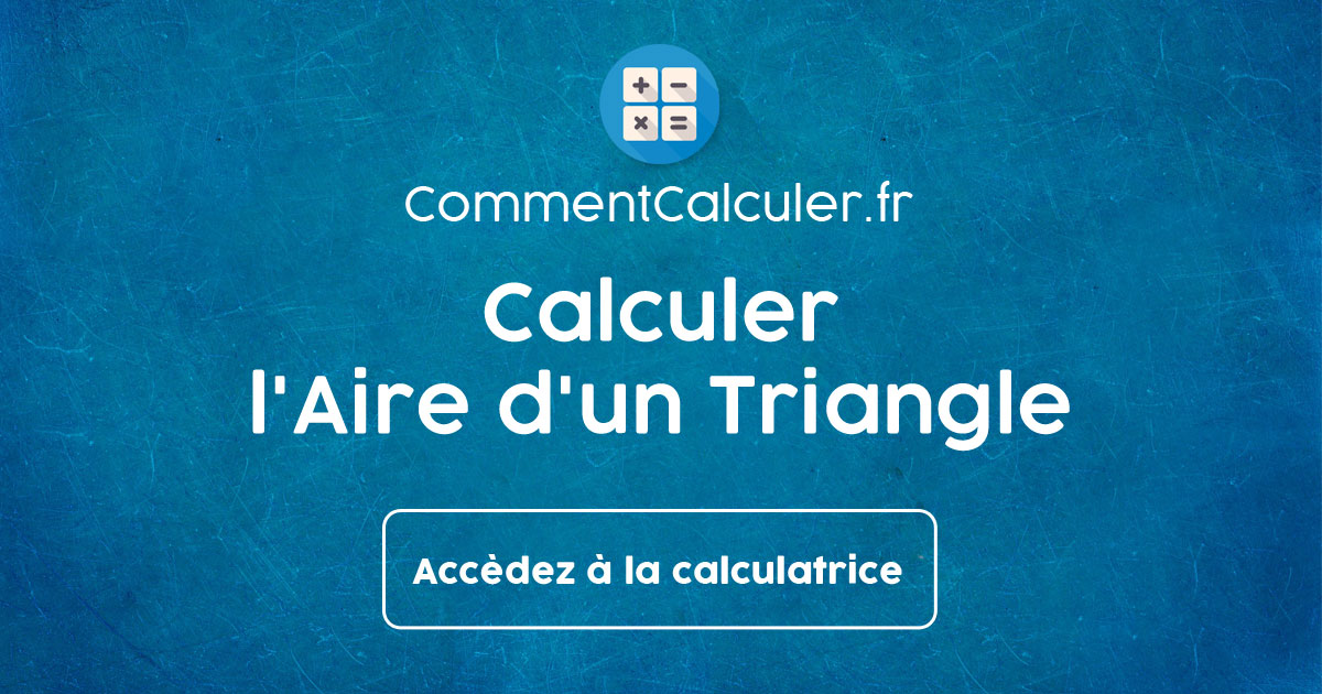 Calculer L Aire D Un Triangle Rectangle Isocele Equilateral