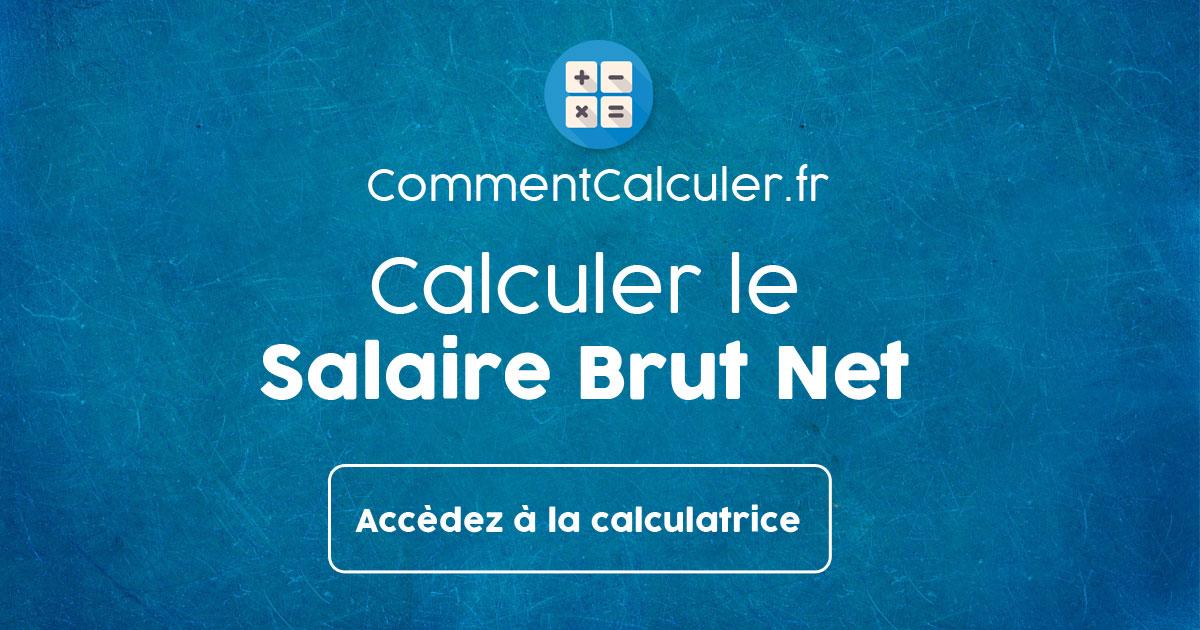Calcul Du Salaire Brut Net France Cdd Fonction Publique